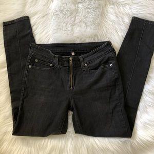 Levi's 711 Zip Up Skinny Jeans Size 27